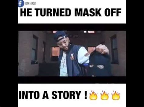 Mask Off Memes - he turned mask off into a story lyrics in description youtube
