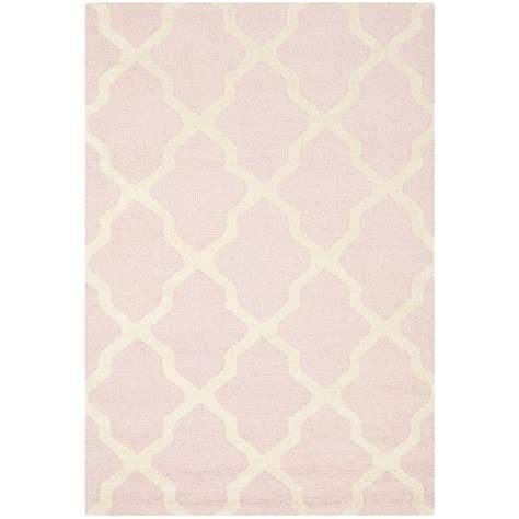 light pink rug safavieh cambridge light pink ivory 4 ft x 6 ft area rug