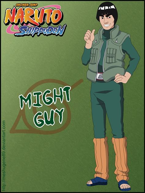 guy naruto zerochan anime image board