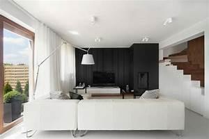 Wohnung Modern Einrichten : wohnung einrichten wohnideen in schwarz wei ~ Sanjose-hotels-ca.com Haus und Dekorationen