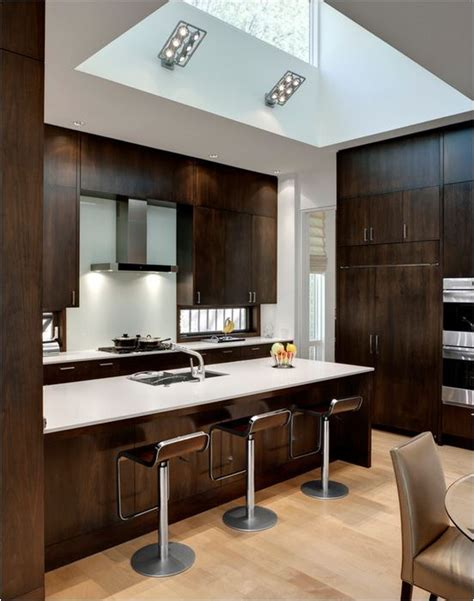 contemporary wood kitchen wood kitchen cabinets revisited centsational 2552