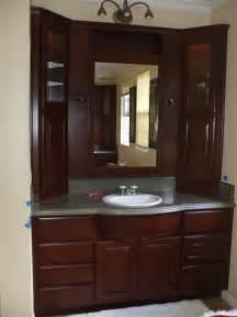 Bathroom Vanity With Built In Makeup Area get a new bathroom vanity woodwork creations