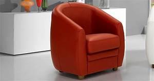 Fauteuil Pivotant Cuir : fauteuil asti faible encombrement ~ Teatrodelosmanantiales.com Idées de Décoration