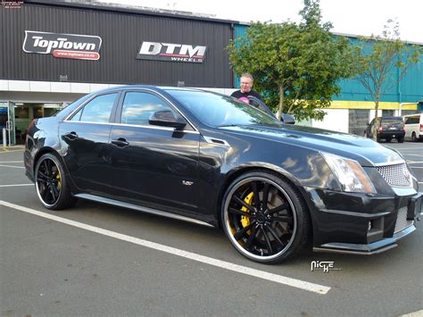 Black Rims For Cadillac Cts by Cadillac Cts Niche Concourse M885 Wheels Matte Black