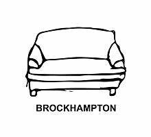 """""""BROCKHAMPTON Couch Logo"""" Women's Relaxed Fit T-Shirts by"""