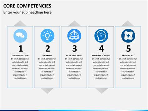 competencies powerpoint template sketchbubble