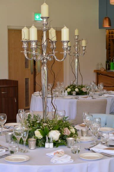 candelabra hire  market harborough leicestershire