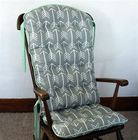 reserved  wkmccullar custom tribal arrow rocking chair cushions glider replacement pads
