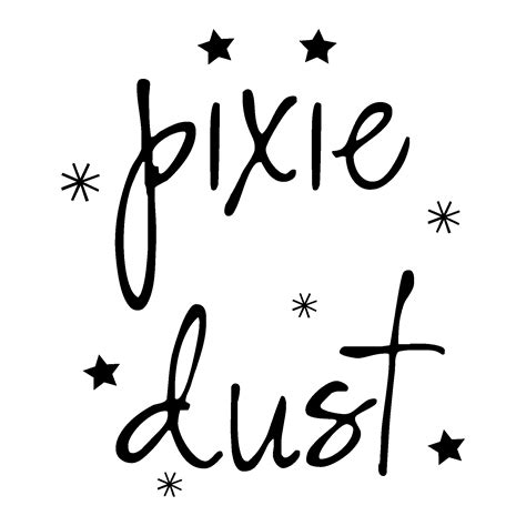 pixie dust wall quotes decal wallquotescom
