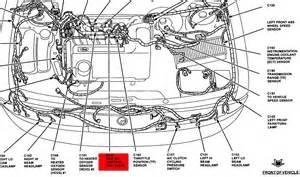 similiar 1999 ford contour parts keywords 95 ford contour engine diagram com ford 3b5vf trying