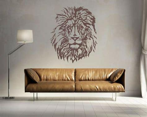 lion head vinyl wall art decal ebay
