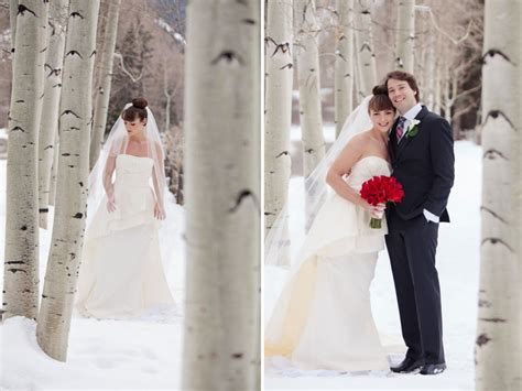 Elegant Winter Wedding In Aspen Colorado Aspen Wedding