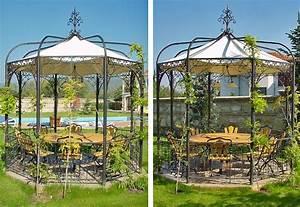 Gartenpavillon Aus Metall : gartenlaube grilllaube und pavillon aus metall 34001 kaufen ~ Michelbontemps.com Haus und Dekorationen