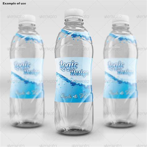 fancy beverage bottle mock   logicdesign graphicriver
