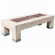 Large Southwestern Style Cocktail Table At 1stdibs