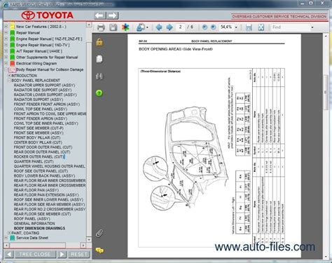 toyota yaris verso echo verso repair manuals wiring diagram electronic parts