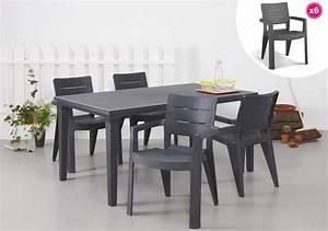 Salon De Jardin Allibert Leclerc : salon de jardin table futura graphite 6 fauteuils ibiza ~ Dailycaller-alerts.com Idées de Décoration