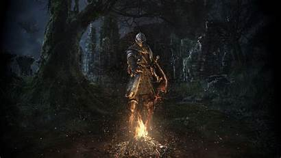 Dark Souls Bonfire Knight Flame Armor Wallpapers
