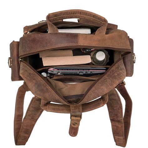 "STILORD ""Nevada"" Rucksack Leder groß im Vintage Design mit"