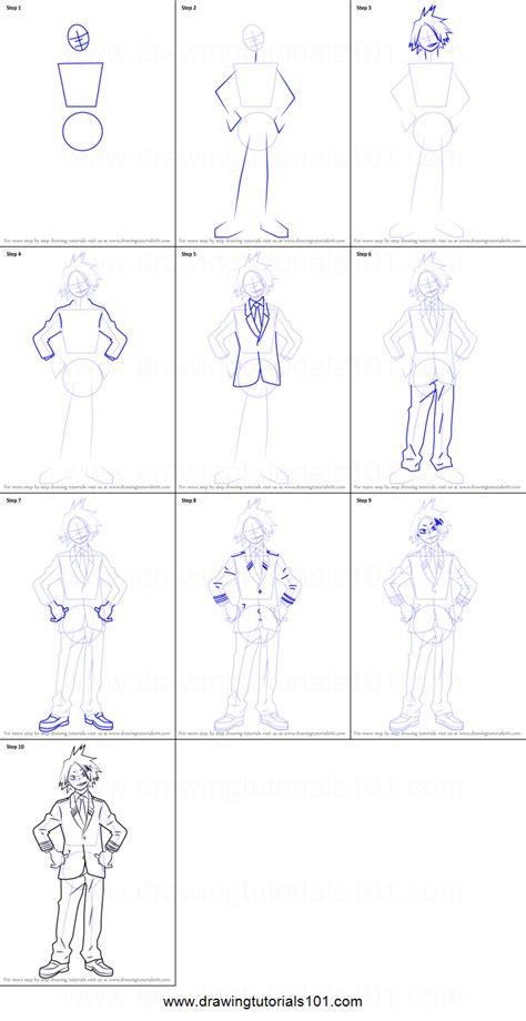 draw denki kaminari  boku  hero academia
