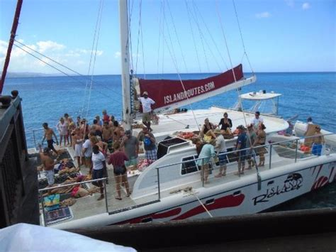 Catamaran Cruise Pictures by Catamaran Cruise Picture Of Sandals Royal Caribbean