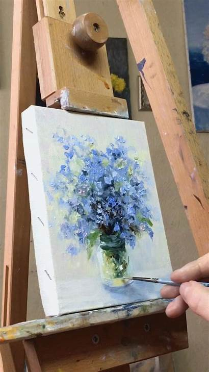Painting Acrylic Flower Easy Sservices Mary Tutorial