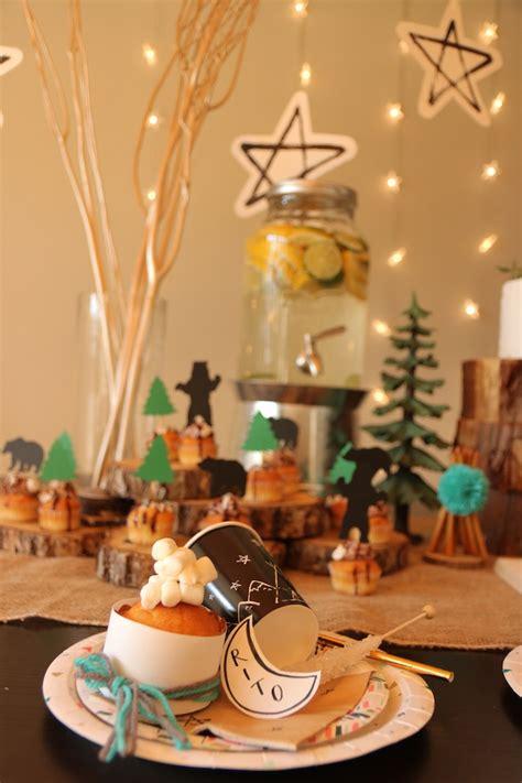 karas party ideas holly jolly christmas camping party