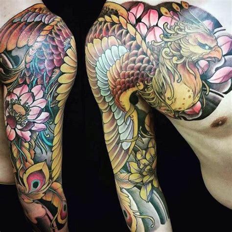japanese phoenix tattoo designs  men mythical ink