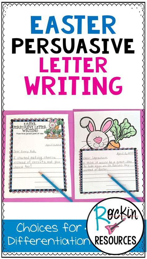 ideas  persuasive letter
