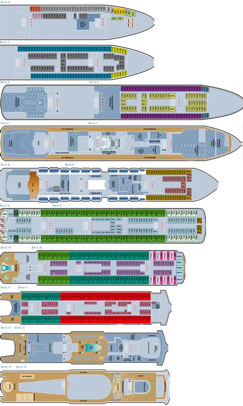 Ncl Deck Plans by Bermuda Ncl Spirit Deck Plans