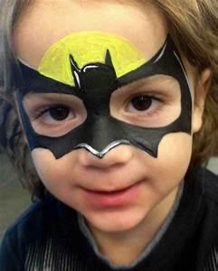 Batman facepaint | Halloween- Autumn / Fall | Pinterest ...
