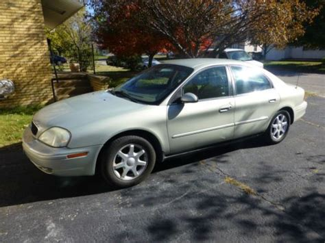 Sell Used 2003 Mercury Sable Gs Sedan 4-door 3.0l In East