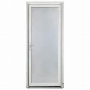 porte d39entree en pvc avec double ou triple vitrage sable With devis porte pvc