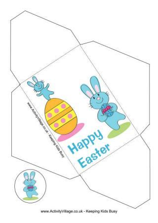 easter gift envelopes