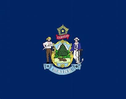 Maine Flag Wikipedia Svg