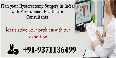 Get Safe and Effective Hysterectomy Surgery in India ...