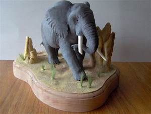 Elephant Carving 1 of 3 by Zillaan on deviantART