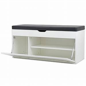 kunes banc de rangement meuble a chaussures en bois avec With amazing meuble chaussure avec banc 10 meuble chaussure hauteur 100 cm