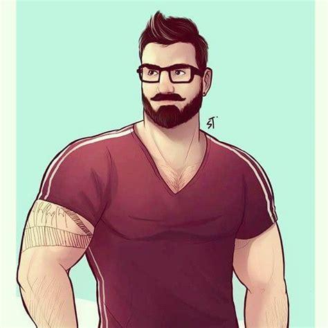 Musclebear By Jojiart Comics Illustration Dessin
