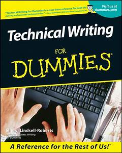 Technical Writing For Dummies By Sheryl Lindsell