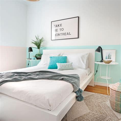 repeindre chambre repeindre une chambre en 2 couleurs choix des