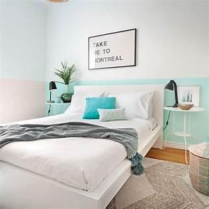 Peinture Mur Chambre : chambre et peinture le mur peint au tiers chambre ~ Voncanada.com Idées de Décoration
