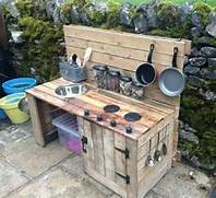 Outdoor Kitchen Plans by Recycled Pallet Wood Outdoor Kitchen Pallet Wood Projects
