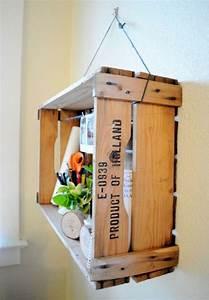 DIY Recycler une Caisse En Bois Deco en 40 idées Archzine fr