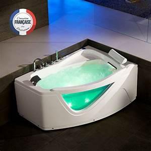 Baignoire D Angle Asymétrique : baignoire d 39 angle asym trique 160 cm g born o baignoire ~ Dailycaller-alerts.com Idées de Décoration