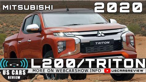 2020 Mitsubishi Triton Specs by 2020 Mitsubishi L200 Triton Review Release Date Specs