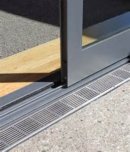 Sliding Patio Door Sill Detail