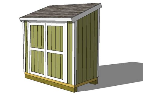 4 x 8 shed plans free storage shed plans my shed