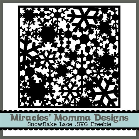 Snowflake Background Die by Pin On Silhouette Portrait Cutting Files