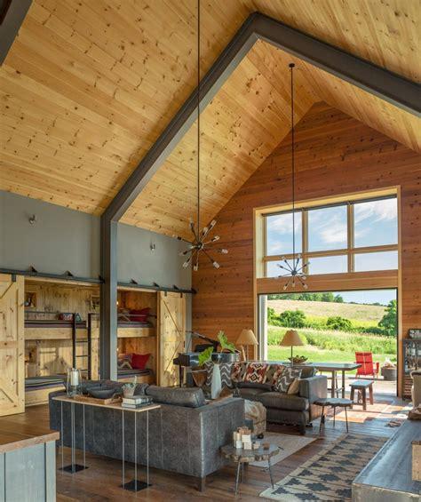 modern barn  joan heaton architects homeadore